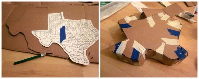 Cardboard base