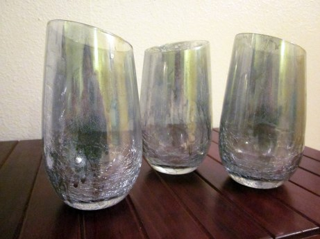 Mercury wine glasses
