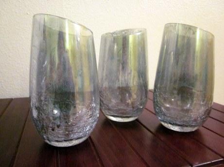 Mercury wine glasses