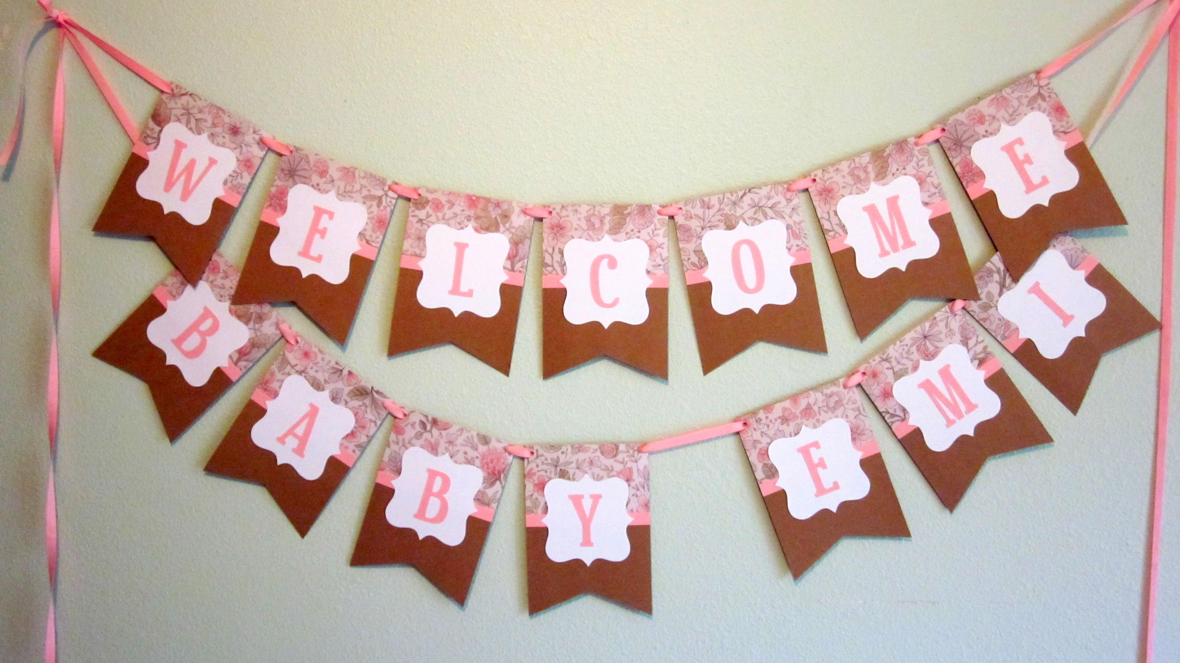Shabby Chic Banners | Semi-DIY