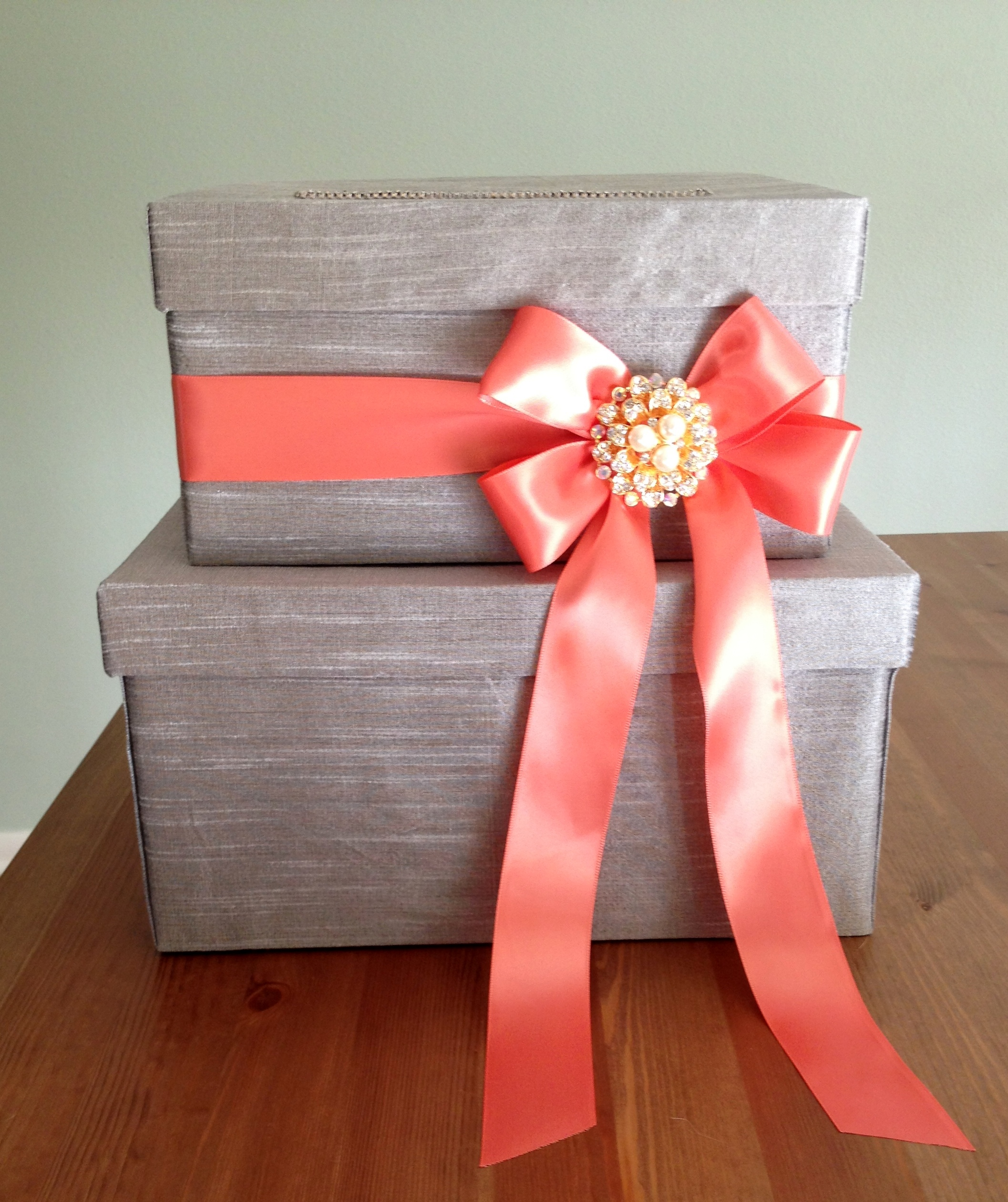 Wedding Card Box | Semi-DIY
